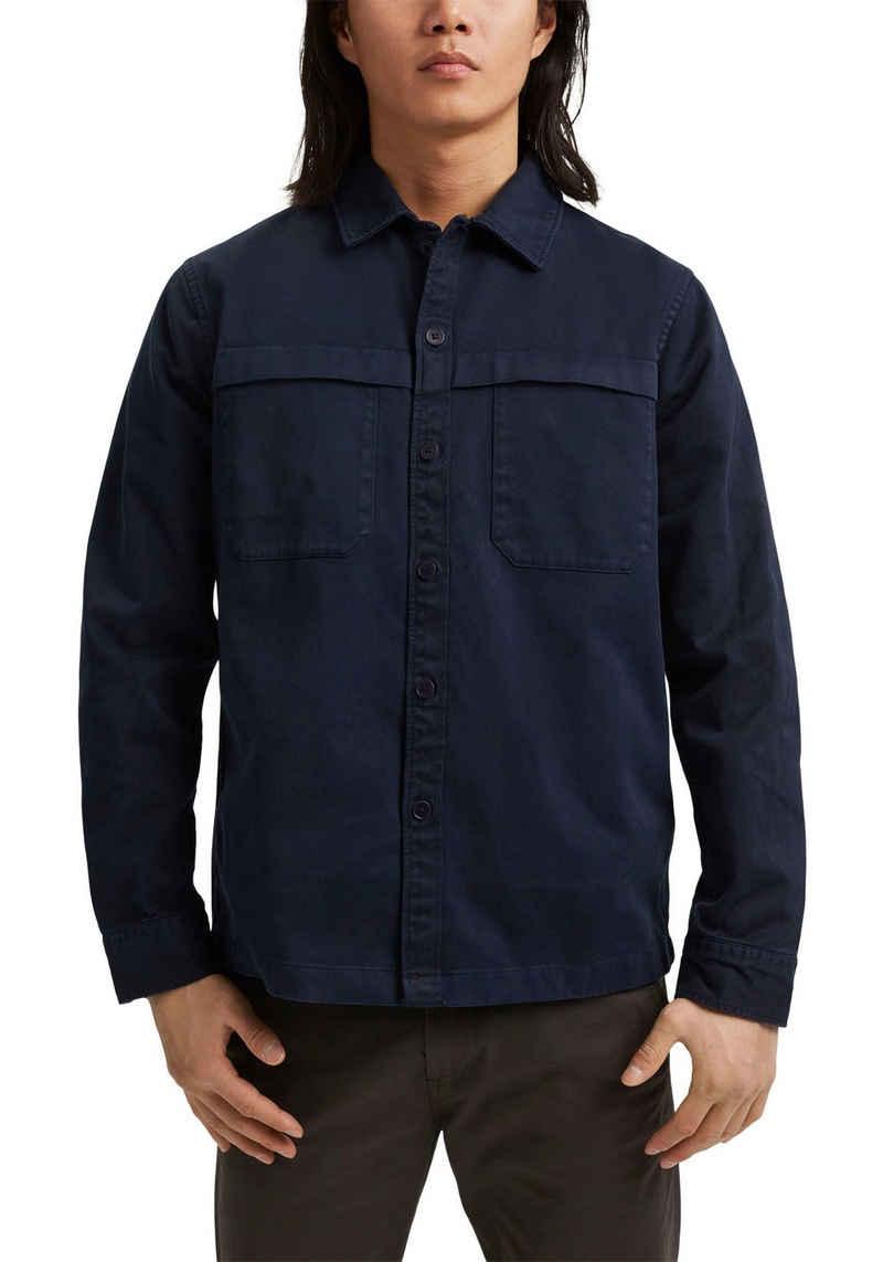 Esprit Langarmhemd »Overshirt« mit Brusttaschen