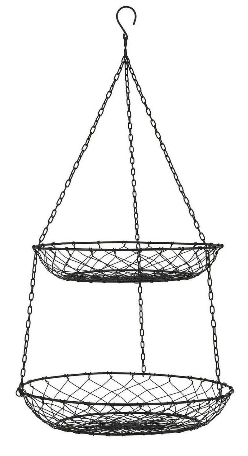 Ib Laursen Dekokorb »Hängekorb Küche Küchenampel Hängeetagere Obstkorb Metall Rund Ib Laursen 5184-25«