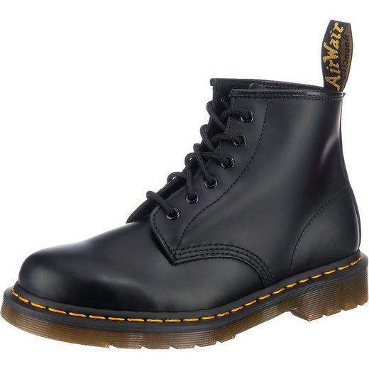 DR. MARTENS »101 Smooth Leather Ankle Boots Schnürstiefeletten« Schnürstiefelette