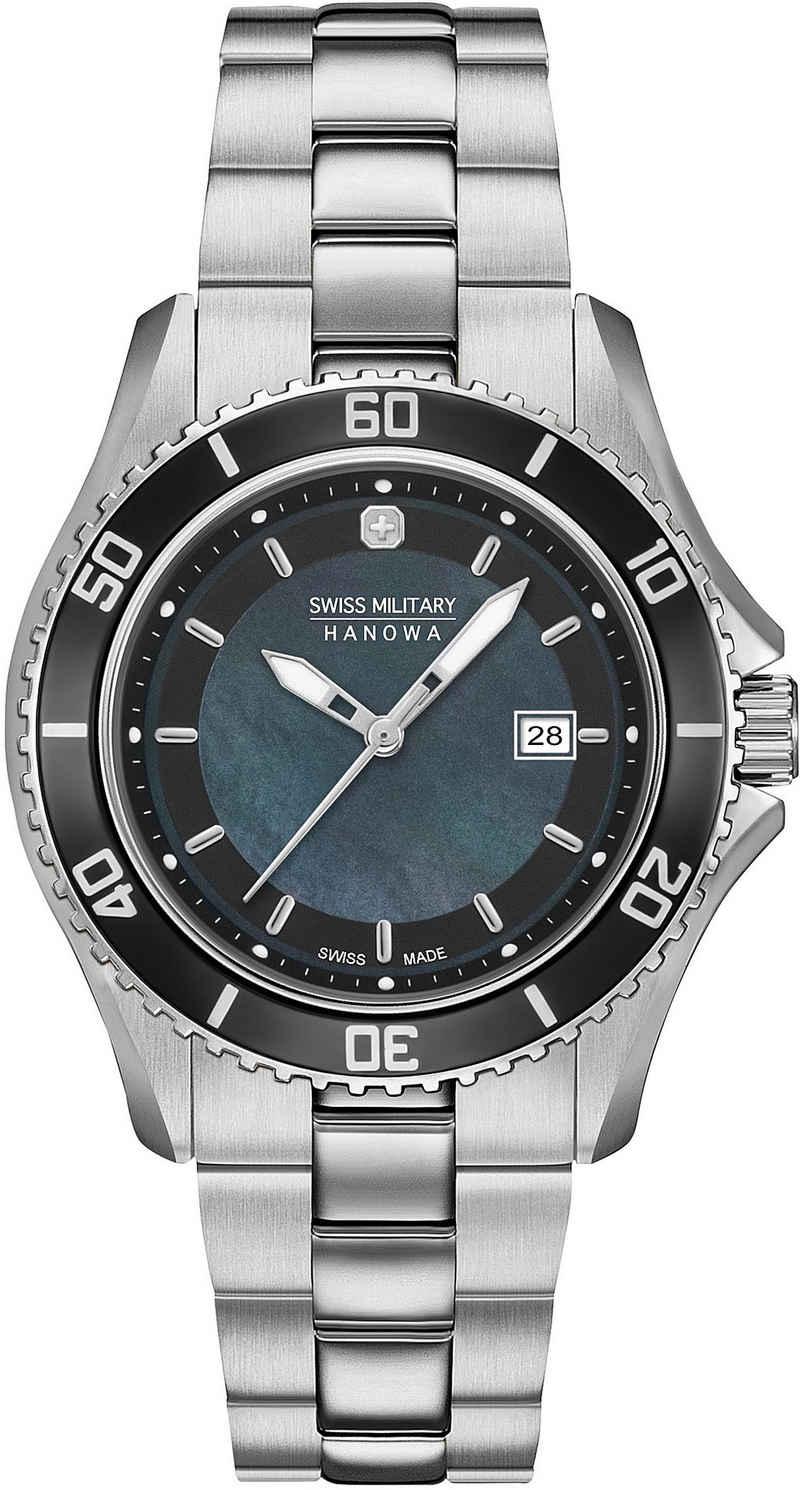 Swiss Military Hanowa Schweizer Uhr »NAUTILA PEARL, 06-7296.7.04.007«