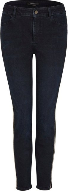 Hosen - Comma Skinny fit Jeans mit glitzerndem Tape an der Seite ›  - Onlineshop OTTO