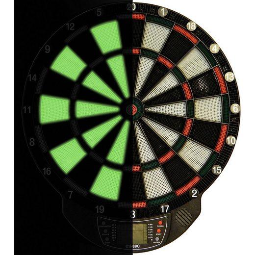 Best Sporting Dartscheibe »Dartboard Glow in the dark WINDSOR«