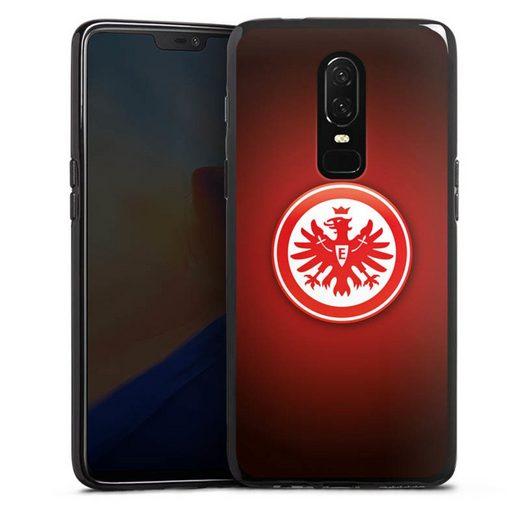 DeinDesign Handyhülle »Eintracht Frankfurt« OnePlus 6, Hülle Eintracht Frankfurt Offizielles Lizenzprodukt Wappen