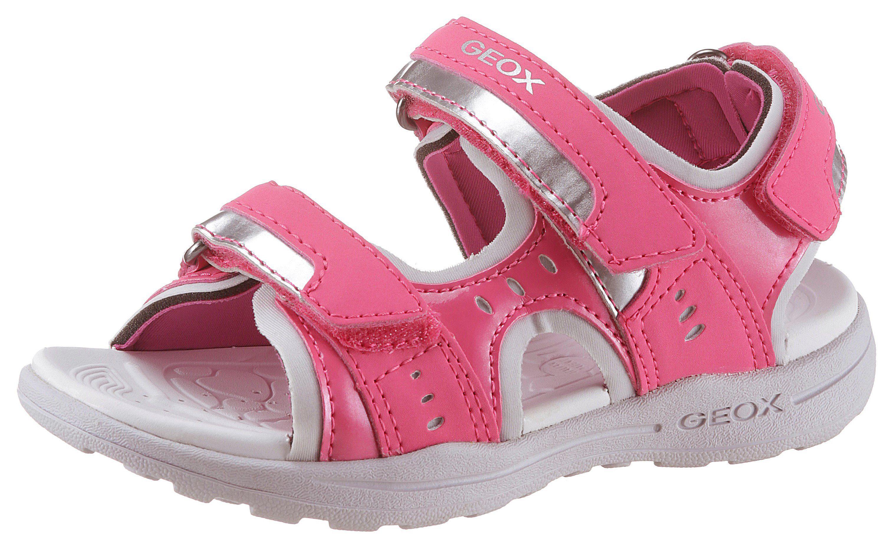 Geox Kids »Vaniett« Sandale mit praktischen Klettverschlüssen online kaufen   OTTO