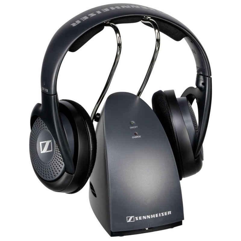 Sennheiser »RS 118-8 EU« Funk-Kopfhörer (Lautstärke-Drehregler, außerordentlichen Basseigenschaften, Schnellladefunktion)