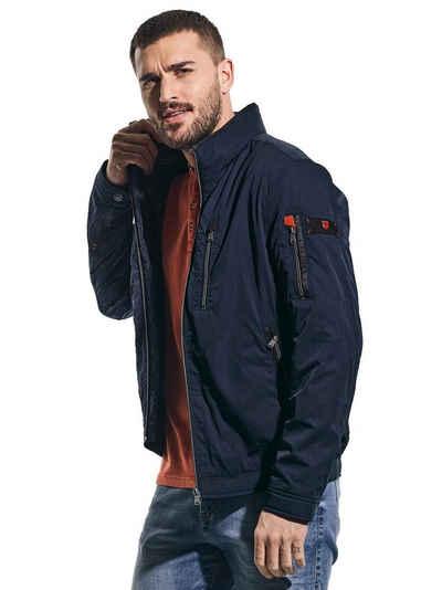 emilio adani Kurzjacke »Sportive Jacke aus hochwertigem Shellmaterial«