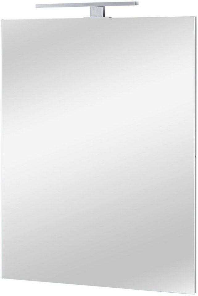 Badspiegel Fonte 60 X 80 Cm Mit Led Aufsatzleuchte Online Kaufen Otto