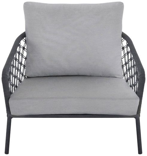 Best Loungesessel »Lounge Sessel Mali« (1-St), Aluminium, inkl. Auflage