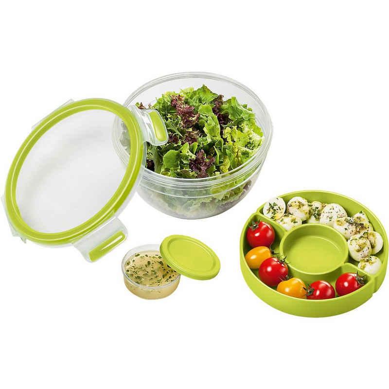 """Emsa Lunchbox »Frischhaltebox für Salat """"Clip & Go"""" mit Einsatz«"""