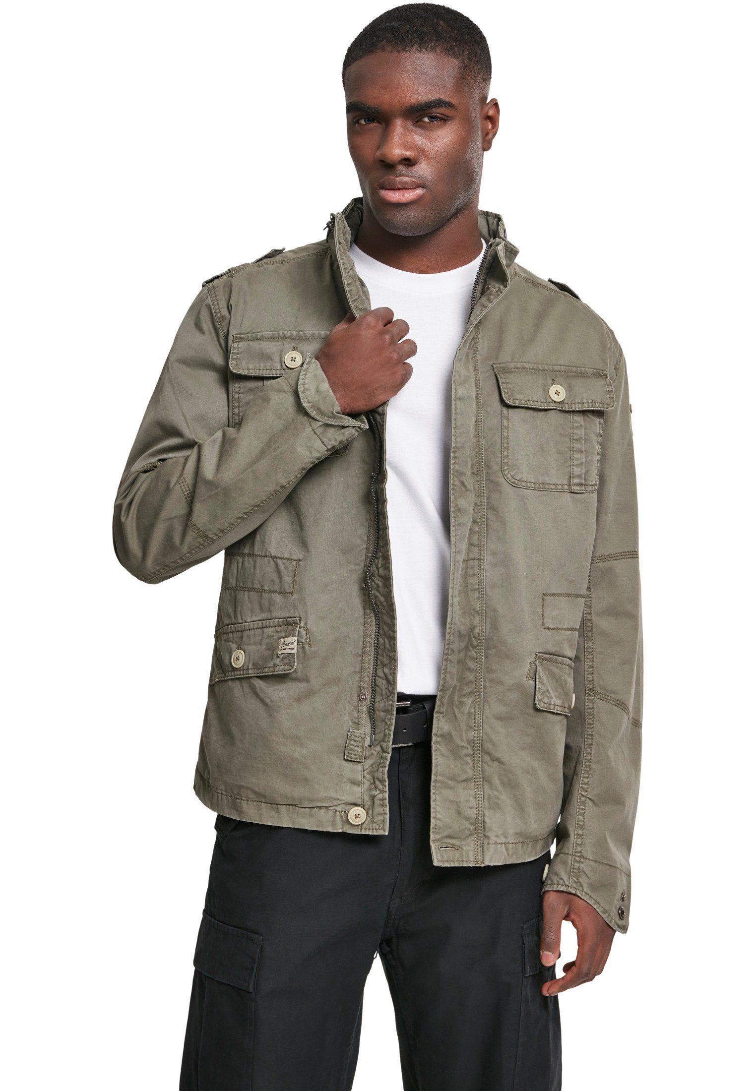 Brandit Fieldjacket »BD3116 Britannia« Reißverschluss online kaufen | OTTO