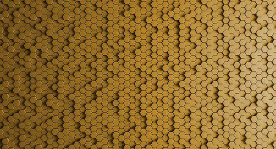 LIVINGWALLS Fototapete »Walls by Patel Honeycomb 1«, Premium Vlies