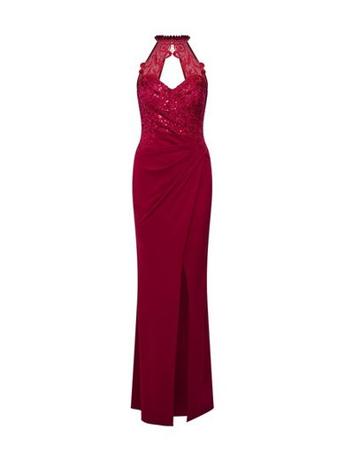 LIPSY Abendkleid »WS RED HLTR SQ WRP M«