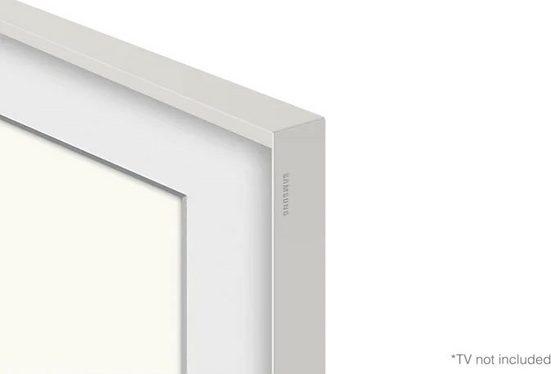 """Samsung Rahmen »55"""" Frame Rahmen Abgeschrägt Weiß (2021)«"""