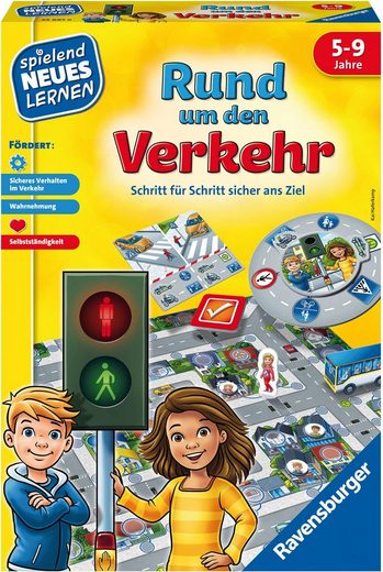Ravensburger Spiel, Lernspiel »Rund um den Verkehr«, FSC® - schützt Wald - weltweit; Made in Europe