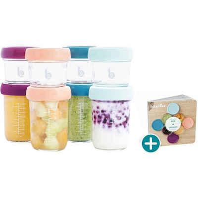 BABYMOOV Aufbewahrungsbox »Babybols aus Glas Multiset, 4x 120 ml + 4x 240 ml«