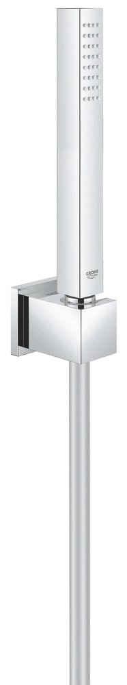 Grohe Stangenbrause-Set »Euphoria Cube Stick«, Höhe 21,6 cm, 1 Strahlart(en), 3 tlg., Wandhalterset mit einer Strahlart
