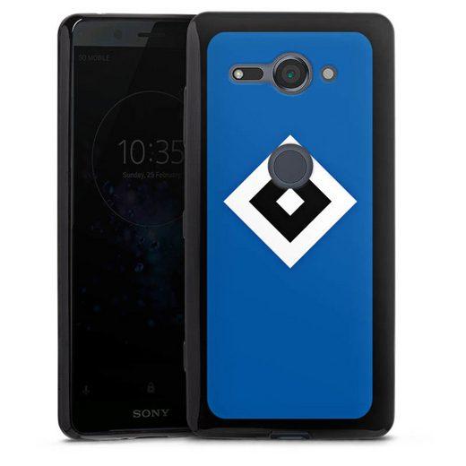 DeinDesign Handyhülle »HSV Blau« Sony Xperia XZ 2 Compact, Hülle Hamburger SV Logo HSV