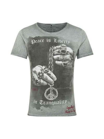 Key Largo T-Shirt »Awake« (1-tlg)