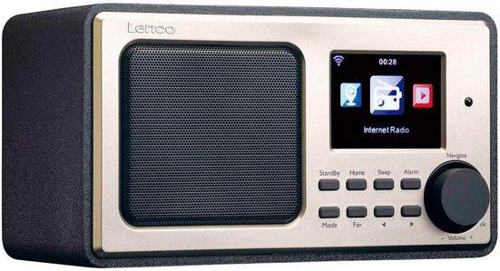 Lenco »DIR-100« Internet-Radio (Internetradio, 3 W)
