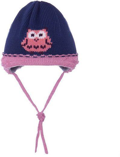 MAXIMO Schirmmütze »Mütze zum Binden für Mädchen«