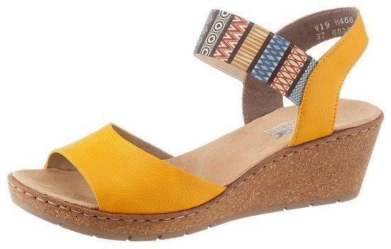 Rieker Sandalette mit Gummizug-Riemchen
