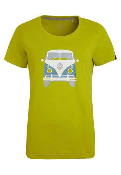 Elkline T-Shirt »Kult« lizenzierter Bulli Brust Rücken Print