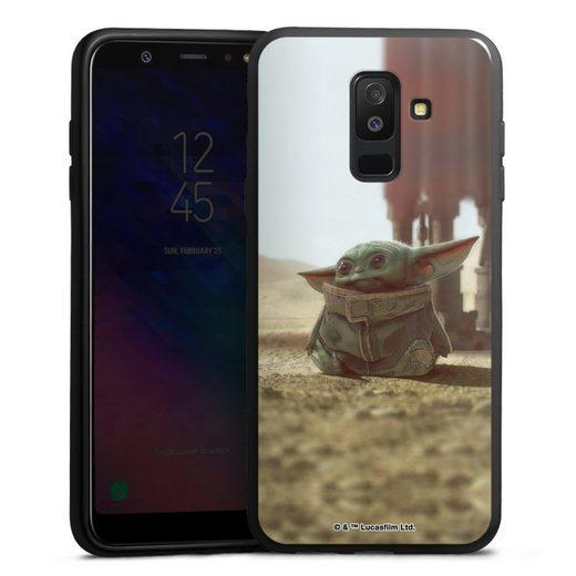 DeinDesign Handyhülle »Star Wars The Child« Samsung Galaxy A6 Plus (2018), Hülle Baby Yoda Star Wars Offizielles Lizenzprodukt