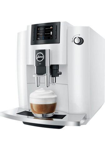 JURA Kaffeevollautomat E6 Piano White weiß