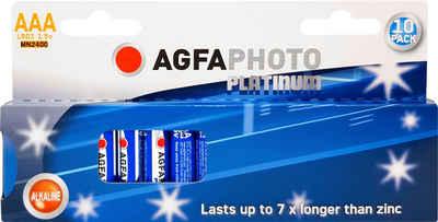 AgfaPhoto »Batterie Platinum, LR03 MN2400« Batterie, (1,5 V, 10 St)