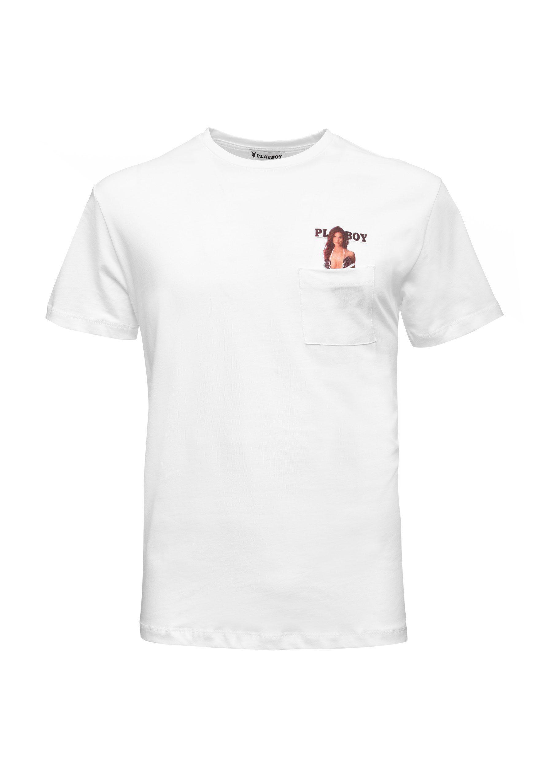 PLAYBOY T Shirt mit hochwertigem Aufdruck kaufen   OTTO