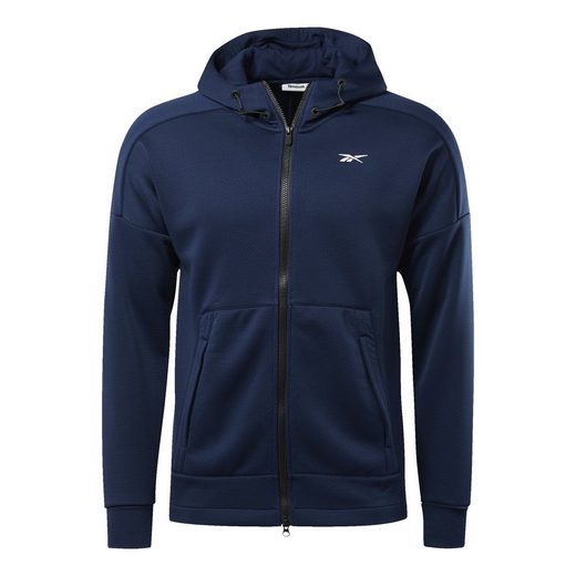 Reebok Sweatjacke »United by Fitness Full-Zip Hoodie«