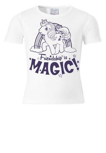 LOGOSHIRT T-Shirt mit niedlichem Print »My Little Pony«