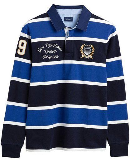 Gant Strickpullover »Rugby-Polo mit Blockstreifen«