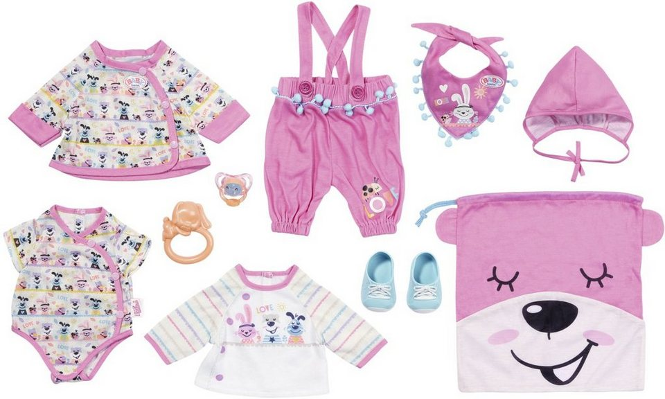 BABY Born Einhorn Partnerlook Set Zapf Creation Puppenkleidung Puppenzubehör