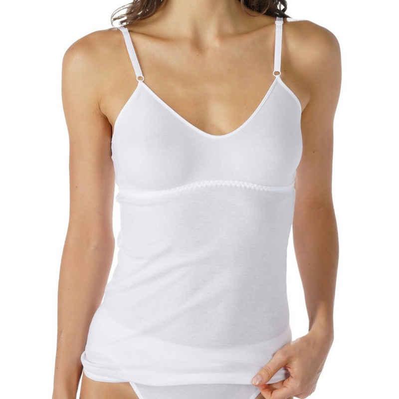 Mey Unterhemd »Noblesse«, BH-Hemd - Ohne Polsterung, Natürliches Tragegefühl, Verstellbare Träger