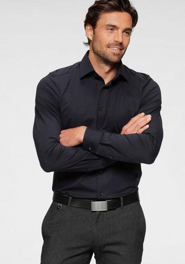 OLYMP Businesshemd »Luxor modern fit 24 / Seven« bequeme Jersey-Qualität