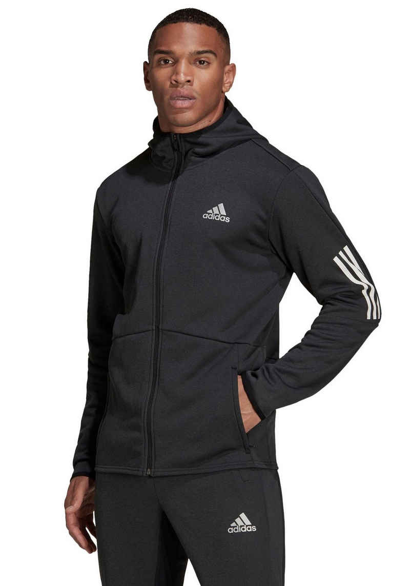 adidas Performance Trainingsjacke »FULL-ZIP HOODIE«