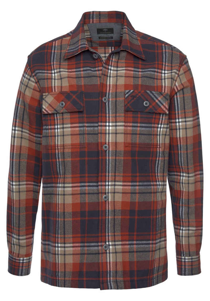 FYNCH-HATTON Langarmhemd »OVERSHIRT«