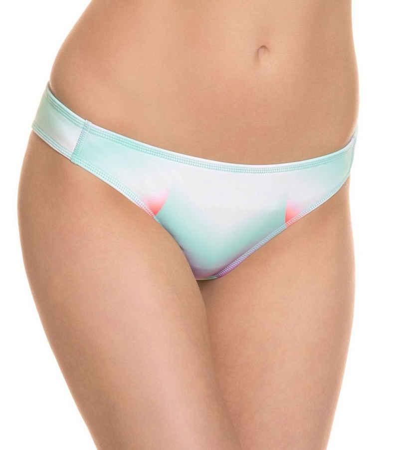 Roxy Badeslip »ROXY W Pop Surf Surfer J Mlr6 Slip bequeme Damen Bikinihose mit hohem Beinausschnitt Schwimm-Hose Mehrfarbig«