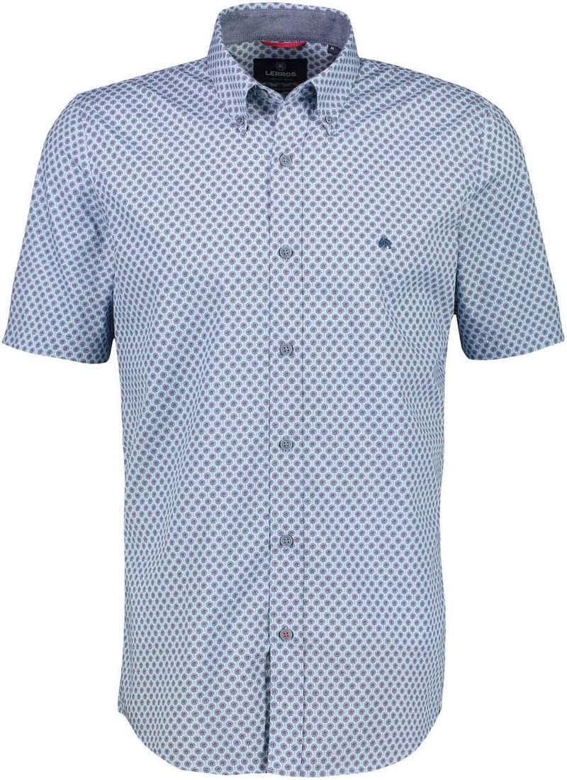 LERROS Kurzarmhemd mit Alloverprint