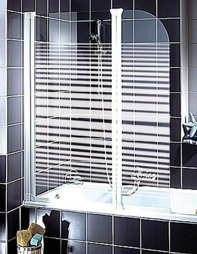 Schulte Badewannenaufsatz »Wega«, Sicherheitsglas, (2 tlg)