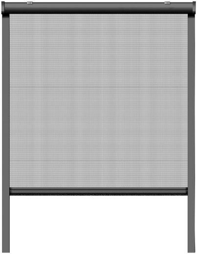 SCHELLENBERG Insektenschutz-Rollo, BxH: 130x160 cm, Rahmen anthrazit