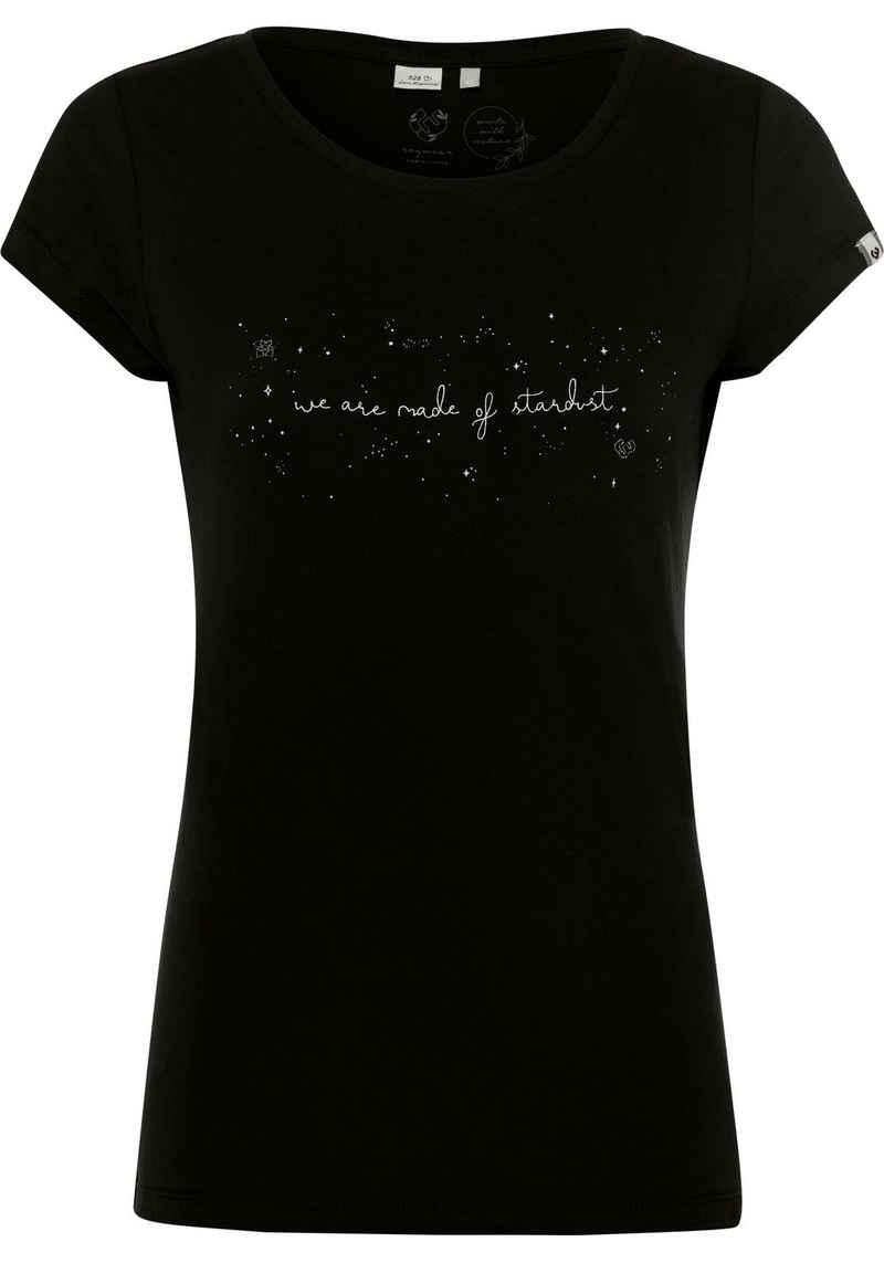Ragwear T-Shirt »MINT A ORGANIC« mit nachhaltigem Statement-Print