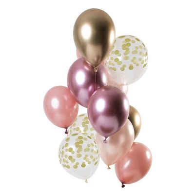 Folat Luftballon »Luftballons Golden Blush 30 cm, 12 Stück«