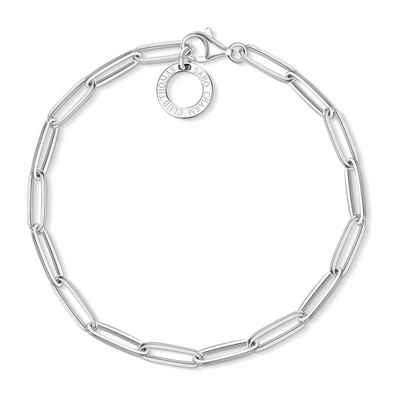 THOMAS SABO Armband »X0253-001-21 Charm-Armband Silber 17 cm«