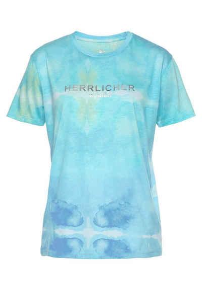 Herrlicher T-Shirt »CAMBER« im Batik-Look