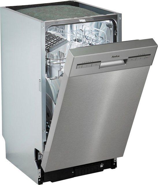 Amica Unterbaugeschirrspüler| EGSPU 500 910 E| 9 l| 10 Maßgedecke | Küche und Esszimmer > Küchenelektrogeräte > Gefrierschränke | Amica