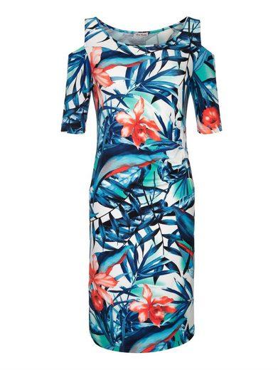 Alba Moda Strandkleid im Cold-Shoulder-Style