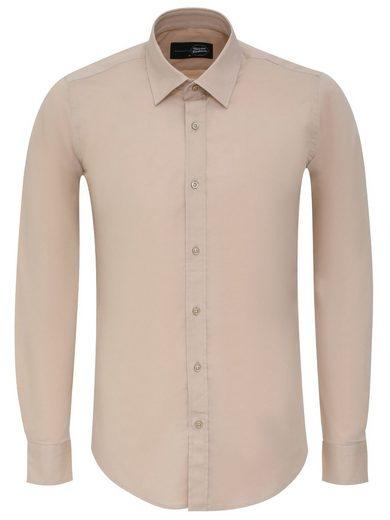 Tazzio Langarmhemd »G-700« modernes und zeitloses Herren Hemd