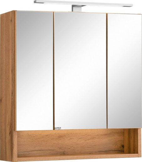 HELD MÖBEL Spiegelschrank »Soria« mit LED Beleuchtung